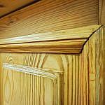 Säulenschrank Weichholz
